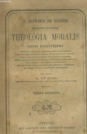 Theologia Moralis - Tomus Sedondus - Couverture - Format classique