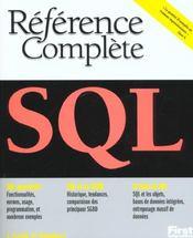 Sql - Intérieur - Format classique