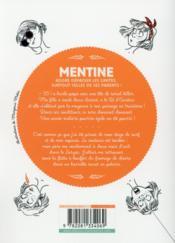 Mentine T.1 ; privée de réseau ! - 4ème de couverture - Format classique
