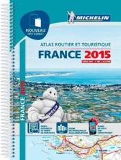 Atlas de France, petit format (édition 2015) - Couverture - Format classique