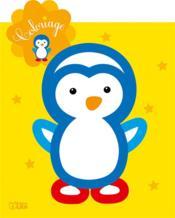 Le coloriage de ma petite étoile ; mon petit pingouin - Couverture - Format classique