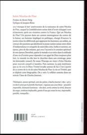 Nicolas de Flue - 4ème de couverture - Format classique
