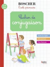 Cahiers de conjugaison - Couverture - Format classique