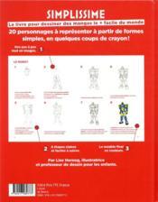 Simplissime ; le livre pour dessiner des mangas le + facile du monde - 4ème de couverture - Format classique