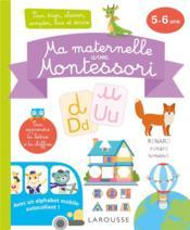 Ma maternelle avec Montessori - Couverture - Format classique
