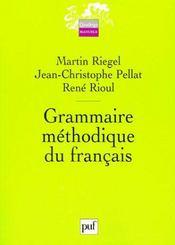 Grammaire methodique du francais (3eme edition) - Intérieur - Format classique