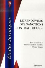 Le Renouveau Des Sanctions Contractuelles - Intérieur - Format classique
