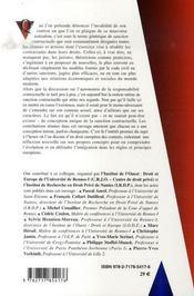 Le Renouveau Des Sanctions Contractuelles - 4ème de couverture - Format classique