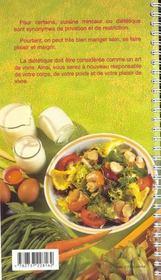 130 recettes pour maigrir - 4ème de couverture - Format classique
