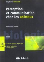 Perception et communication chez les animaux - Intérieur - Format classique