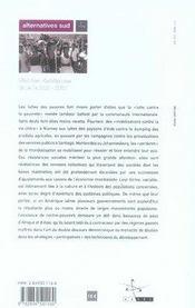 État des résistances dans le sud (édition 2007) - 4ème de couverture - Format classique