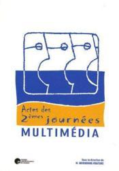 Actes des 2ème journées multimédia - Couverture - Format classique