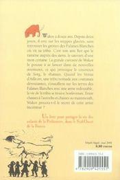 Wakor Le Chasseur Des Falaises Blanches - 4ème de couverture - Format classique