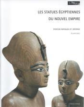 Les statues égyptiennes du nouvel empire - Couverture - Format classique
