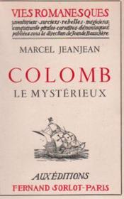 Colomb le mystérieux - Couverture - Format classique