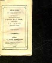 Memoires En Forme De Lettre Sur Monseigneur Louis-Francois-Gabriel D'Orleans De La Motte - Tome 3 - Couverture - Format classique