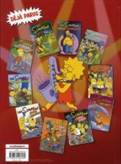 Les Simpson t.13 ; sous les projecteurs - 4ème de couverture - Format classique