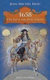 1658, l'éclipse du roi-Soleil - Couverture - Format classique