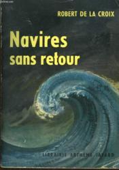 Navires Sans Retour. - Couverture - Format classique