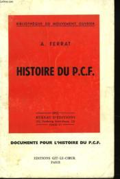 Histoire Du P.C.F. - Couverture - Format classique