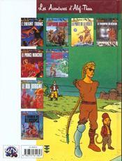 Alef-Thau t.8 ; le triomphe du rêveur - 4ème de couverture - Format classique