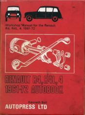 Renault R4, R4l, 4 1961-72 Autobook - Couverture - Format classique