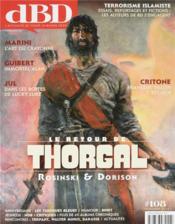 DBD MAGAZINE N.108 ; le retour de Thorgal - Couverture - Format classique