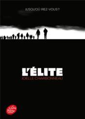 L'élite t.1 ; résilience - Couverture - Format classique