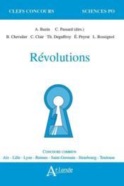 Révolutions - Couverture - Format classique