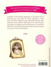 Célestine, petit rat de l'Opéra T.11 ; la leçon de danse - 4ème de couverture - Format classique