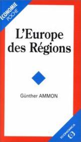 Europe des regions (l') poche - Couverture - Format classique