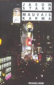 Mauvais Karma - Couverture - Format classique