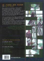 Le fléau des dieux t.5 ; dei ex machina - 4ème de couverture - Format classique
