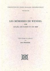 Les mémoires de Wendel sur les Jat, les Pathan et les Sikh - Couverture - Format classique