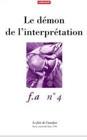 Le Demon De L'Interpretation - Intérieur - Format classique