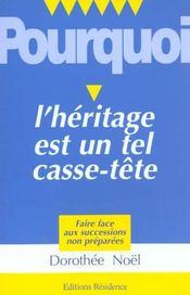 Voici Pourquoi L'Heritage Est Un Tel Casse-Tete - Intérieur - Format classique