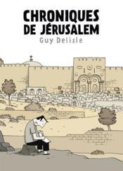 Chroniques de Jérusalem - Couverture - Format classique