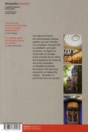 Bruxelles insolite - 4ème de couverture - Format classique