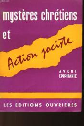 Mysteres Chretiens Et Action Jociste - Couverture - Format classique