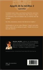 Appels de la médina t.2 ; aspirations - 4ème de couverture - Format classique