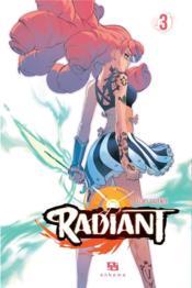 Radiant T.3 - Couverture - Format classique