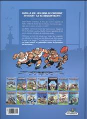 Les rugbymen T.14 ; on a déboulé à Marcatraz ! - 4ème de couverture - Format classique