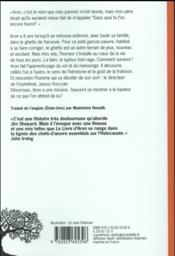 Le livre d'Aron - 4ème de couverture - Format classique