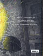 Sous le parapluie - 4ème de couverture - Format classique