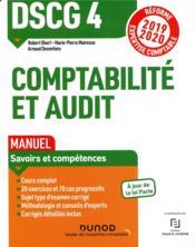 DSCG 4 - comptabilité et audit ; réforme expertise comptable - Couverture - Format classique