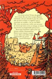 Béatrice l'Intrépide T.3 ; Béatrice l'Intrépide comme dans les contes - 4ème de couverture - Format classique