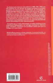Dictionnaire du theatre - np - Couverture - Format classique