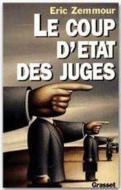 Le coup d'état des juges - Couverture - Format classique