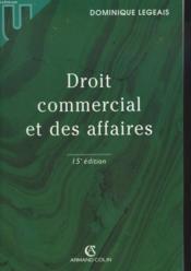 Droit Commercial Et Des Affaires - Couverture - Format classique