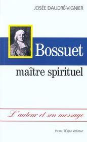 Bossuet maitre spirituel - Intérieur - Format classique
